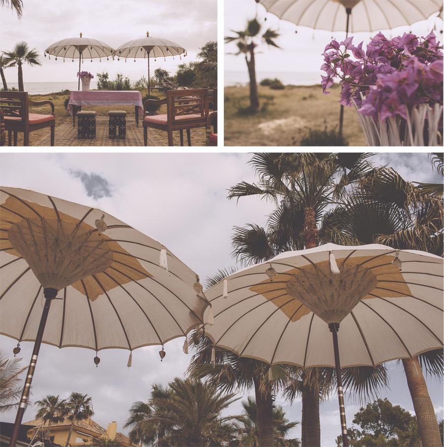 Playa de Río Real trocadero arena boda en la playa