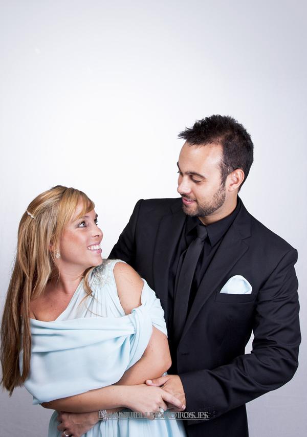 fotografía de la pareja mirándose foto original y divertida