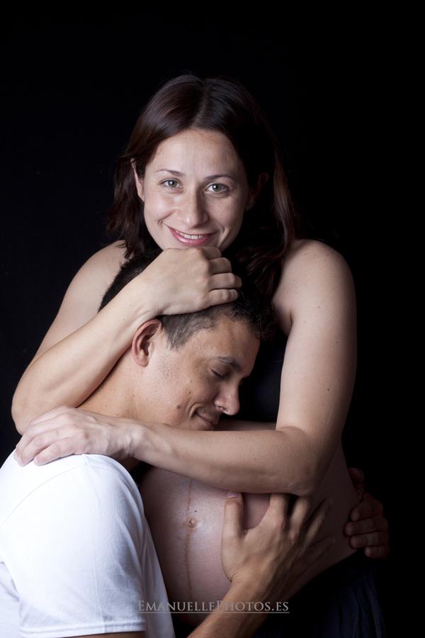 Foto de la pareja para foto book en málaga