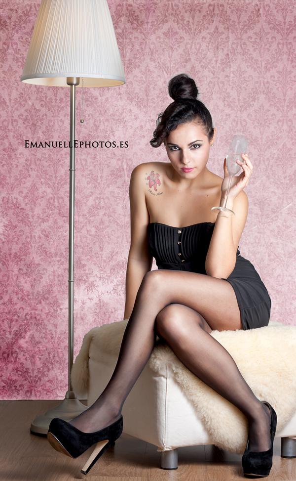 Foto de book para reportaje de moda, Mª Amor