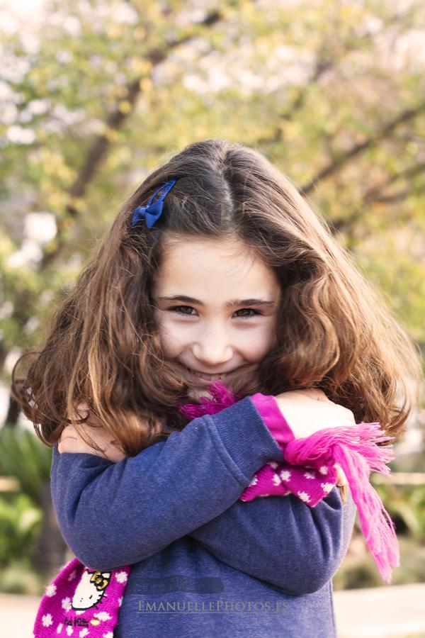 Foto de book abrazo niño
