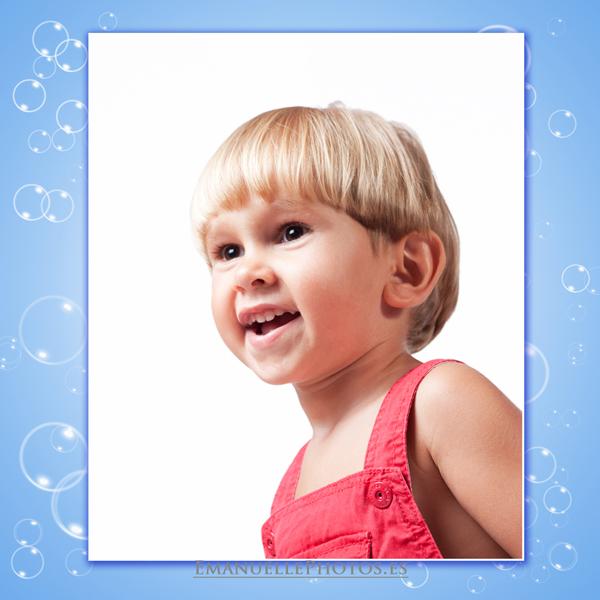Foto de book primer plano para book de niño