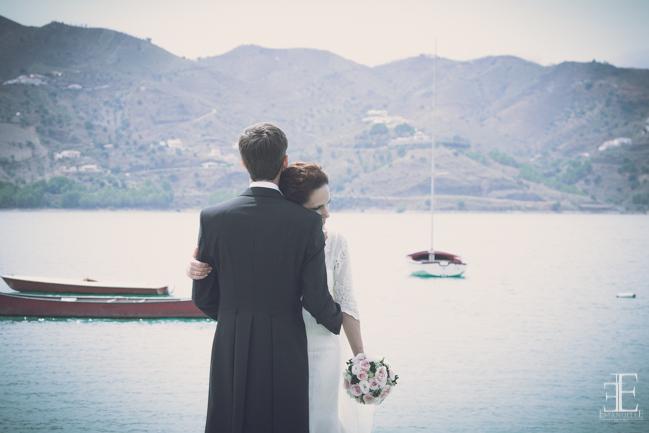 fotografia romantica de boda en malaga