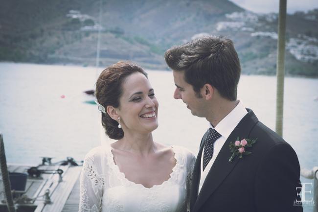 fotografia espontanea y natural de boda