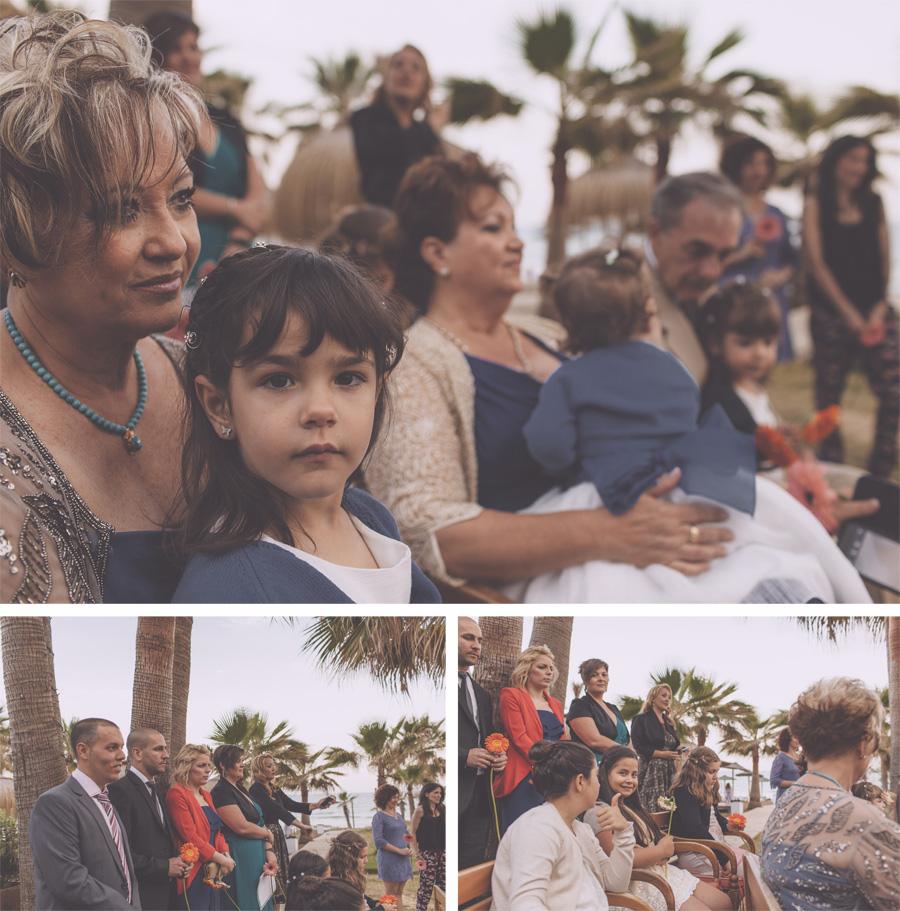 reportaje de boda playa trocadero arena