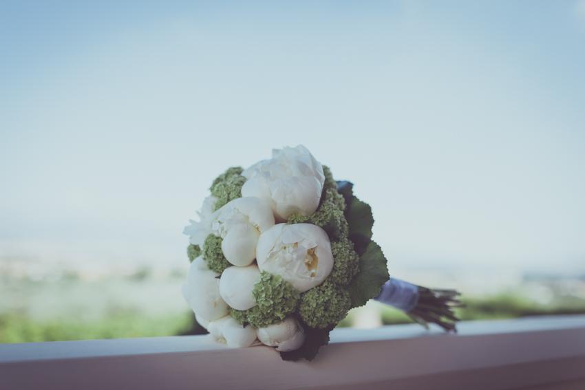 ramo de novia con flores naturales