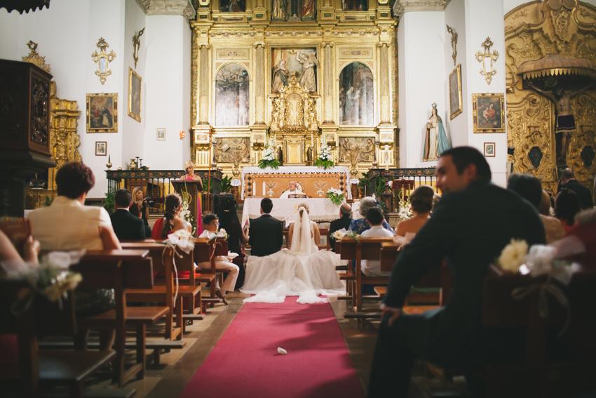 ceremonia en granada boda emotiva