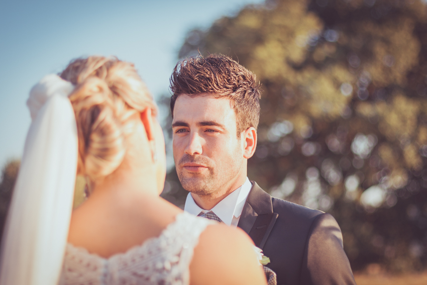 pareja enamorada después del boda