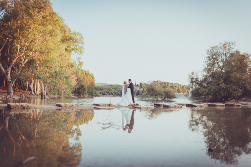 beso en un lago fotografía artística de emociones y sentimientos