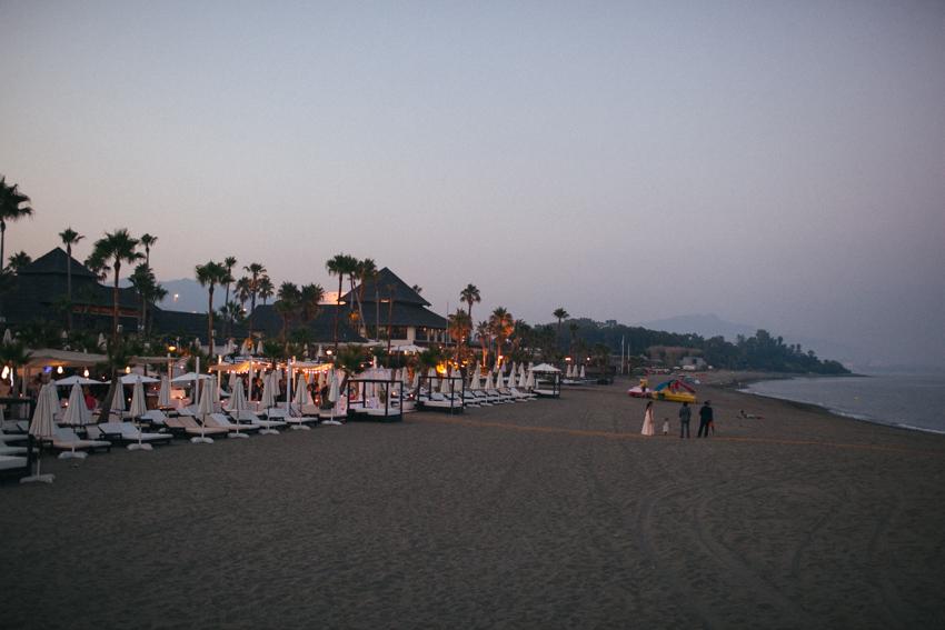 boda ia pié de playa en malaga