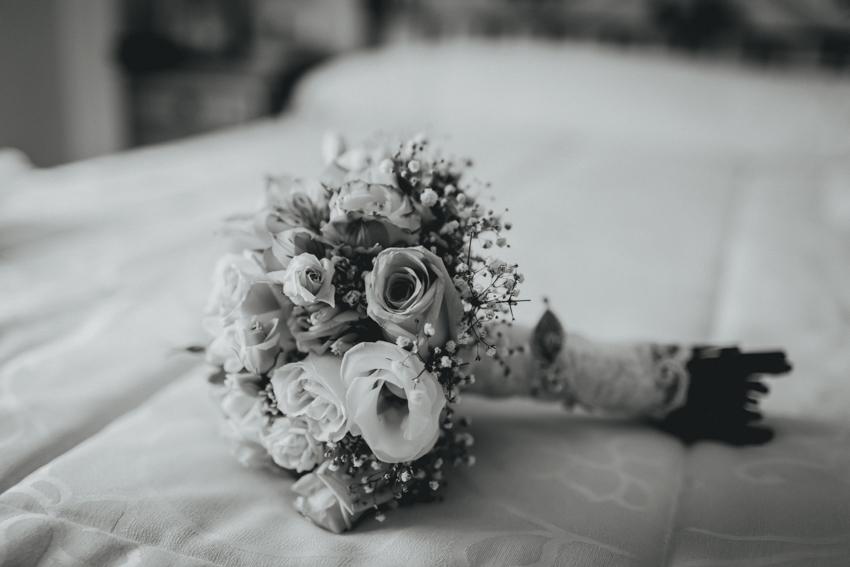 ramo de flores boque para la boda