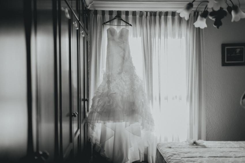 traje de novia en málaga