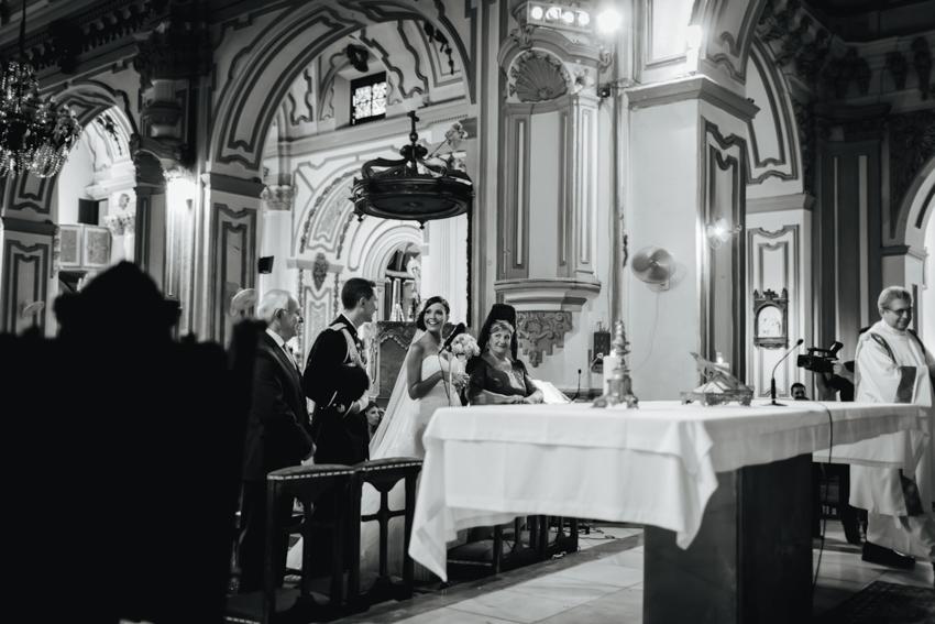 altar durante la celebración religiosa