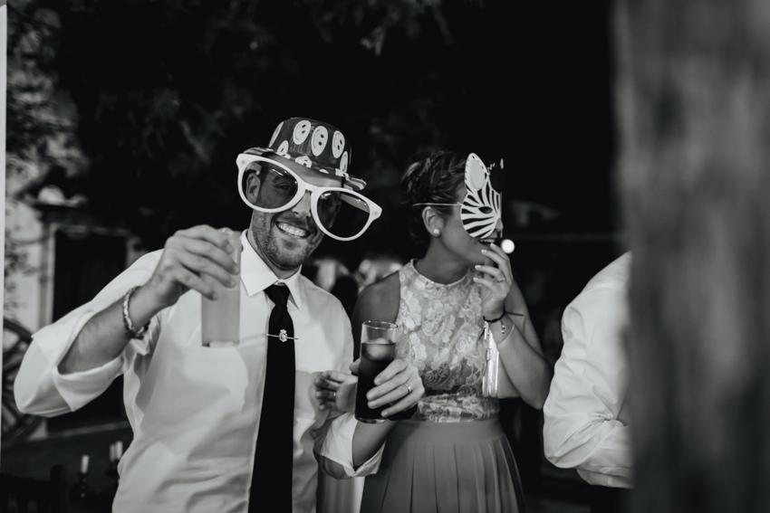 momentos divertidos durante la fiesta