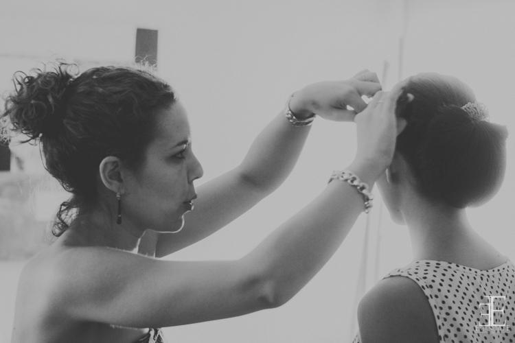 peinado de novia para la boda en granada