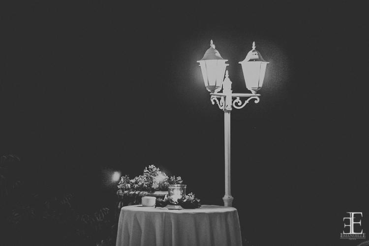 Detalle mesa boda la chumbera restaurante en granada