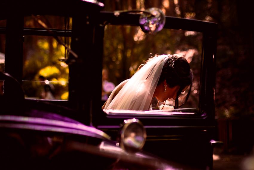 momento naturales durante una boda