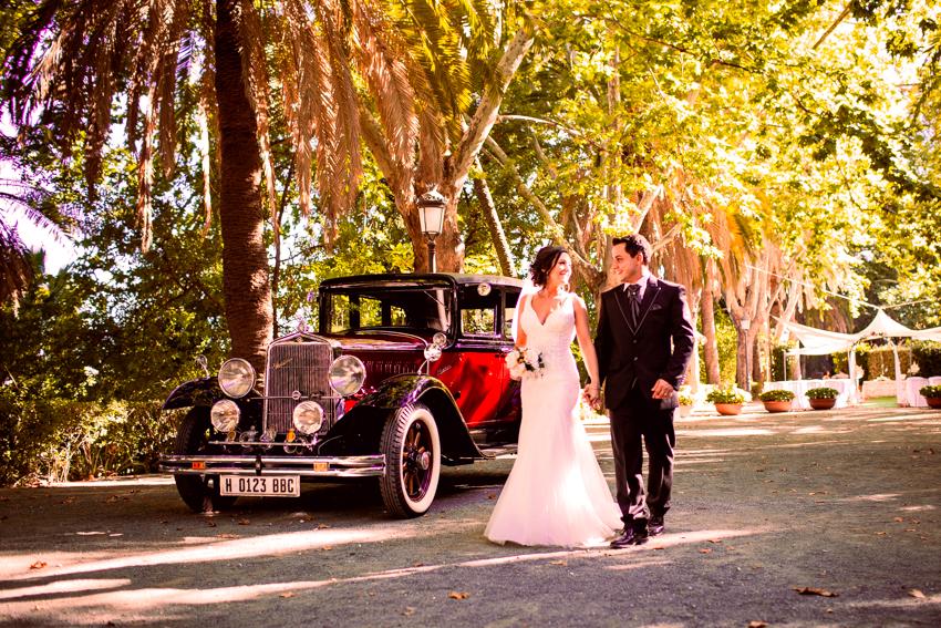 coche antiguo para el día de tu boda