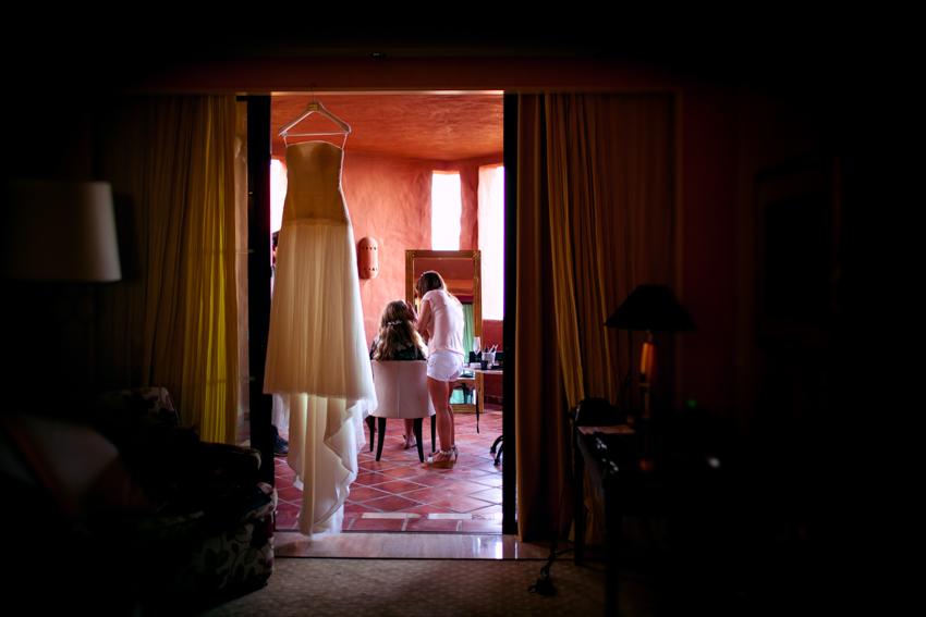 fotografía artística de boda marbella