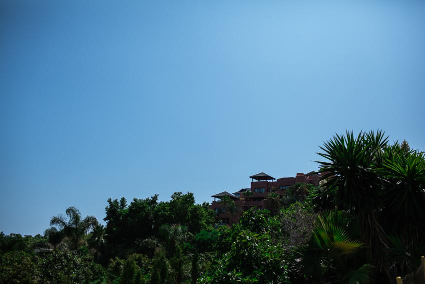 vista del hotel kempinski marbella