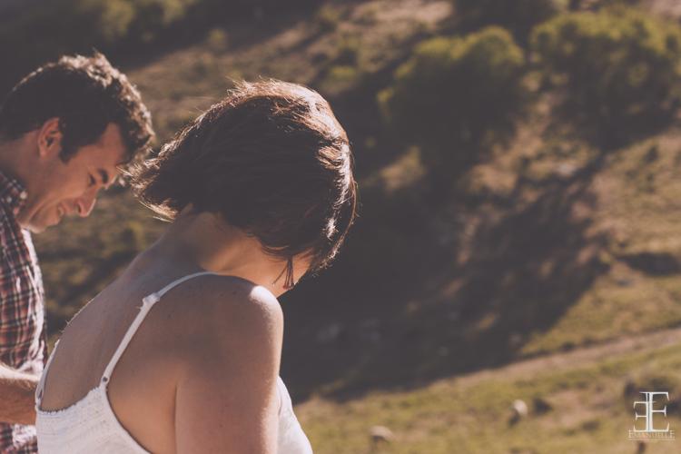 fotografía de emanuelle photos durante un reportaje de boda